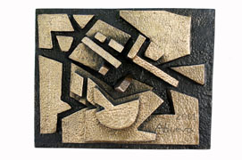 abstract relief 2 Napoleon Veloso Abueva