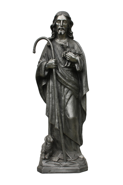 religious christian art bronze sculptures in any size and